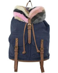 T-Shirt & Jeans - Woodside Bloom Faux Fur Large Backpack - Lyst