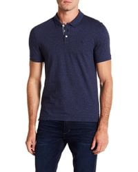 Original Penguin - Short Sleeve Jaspe Stripe Polo - Lyst
