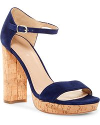 Pour La Victoire - Yvette Platform Ankle Strap Sandal - Lyst