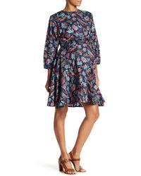 Madeleine Maternity - Long Sleeve Print Dress (maternity) - Lyst
