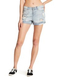 Articles of Society - Jimmy Distressed Short - Lyst