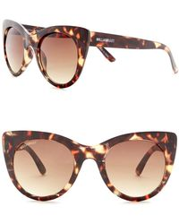 William Rast - 49mm Cat Eye Sunglasses - Lyst