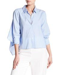 Bishop + Young - Karlie Back Tie Stripe Shirt - Lyst