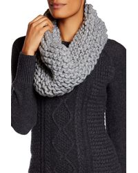 Modena   Seamless Purl Knit Cowl Scarf   Lyst