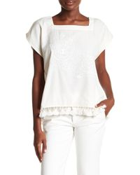 Corey Lynn Calter - Tina Embroidered Blouse - Lyst