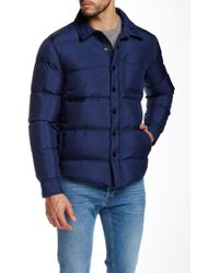 Surfside Supply - Quilted Down Shirt Jacket - Lyst