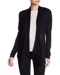 Cable & Gauge | Mixed Knit Cover Up | Lyst