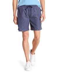 Tailor Vintage - Solid Microfiber Swim Volley Trunks - Lyst