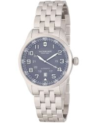 Victorinox - Men's Airboss Automatic Bracelet Watch, 42mm - Lyst