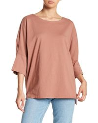 Michelle By Comune - Boatneck Dolman Sleeve Tee - Lyst
