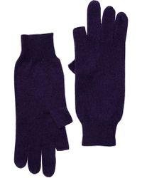 Skull Cashmere - Cashmere I-gloves - Lyst