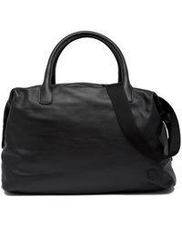 Giorgio Armani - Armani Leather Weekend Bag - Lyst