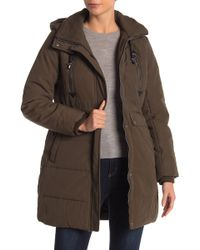 Lucky Brand - Missy Faux Shearling Lined Hooded Parka - Lyst