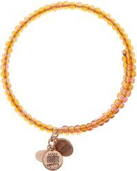 ALEX AND ANI - Highwire Topaz Highwire Wrap Bracelet - Lyst