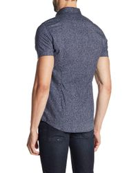 DIESEL - Noise Slim Fit Button Down Shirt - Lyst