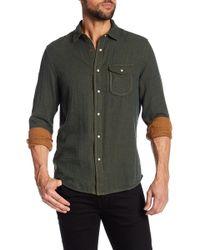 Jeremiah - Chase Melange Button Reversible Regular Fit Shirt - Lyst