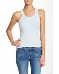 American Apparel | Ribbed Tank | Lyst