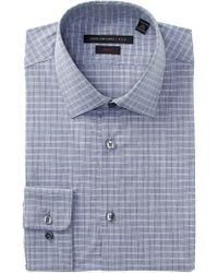 John Varvatos - Check Slim Fit Dress Shirt - Lyst