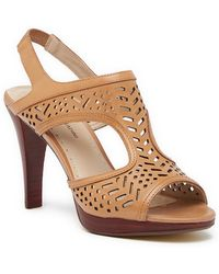 fdf4fb5a271 Adrienne Vittadini - Prism Slingback Heeled Sandal - Lyst