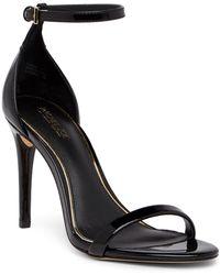 Rachel Zoe   Ema Patent Leather Stiletto Sandal   Lyst