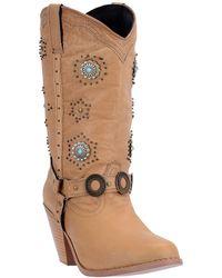 Dingo - Embellished Western Boot - Lyst