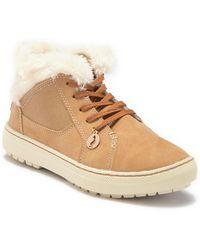 Sporto - Zep Faux Fur High-top Sneaker - Lyst