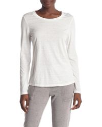 Threads For Thought - Long Sleeve Burnout Top - Lyst