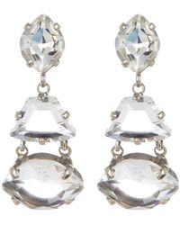 Sorrelli - Crystal Geometry Drop Earrings - Lyst