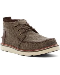 TOMS - Brushed Wool Chukka Boot - Lyst