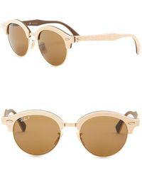 Ray-Ban - 51mm Phantos Round Sunglasses - Lyst