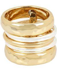 Robert Lee Morris - Linked Stack Ring Set - Size 8.5 - Lyst