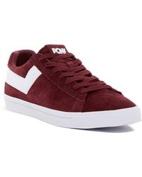 Product Of New York - Top Star Lo Core Suede Sneaker - Lyst