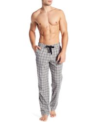 UGG - Flynn Check Print Pyjama Trousers - Lyst