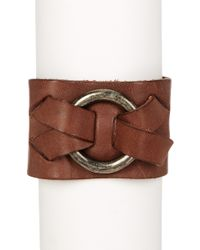 Frye - Ring Leather Cuff - Lyst