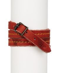 Frye - Campus Wrap Leather Cuff - Lyst