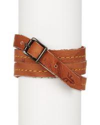 Frye - Campus Wrap Leather Cuff - Lyst
