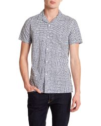 JB Britches - Orca Short Sleeve Trim Fit Shirt - Lyst