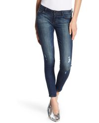 Siwy - Hannah Low Rise Cropped Skinny Jeans - Lyst