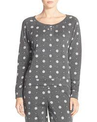 Jane & Bleecker New York - Print Pullover Sweatshirt - Lyst