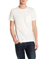 Theory - Strato-gaskell Pocket Tee - Lyst
