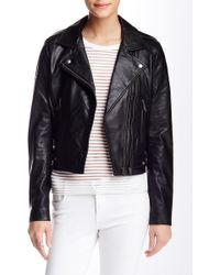 Linea Pelle - The Ryder Genuine Leather Jacket - Lyst