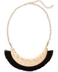 Panacea - Fringe Collar Necklace - Lyst