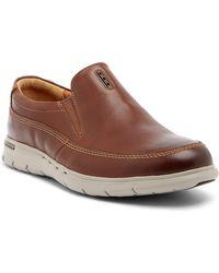 Clarks | Unbyner Easy Leather Loafer | Lyst