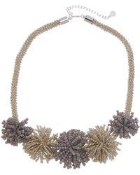 BaubleBar - Riviera Beaded Statement Necklace - Lyst