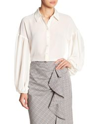 Nanette Lepore - Heroes Button Down Blouse - Lyst