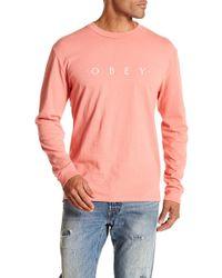 Obey - Novel Crew Neck Sweater - Lyst