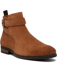 Call It Spring - Mayria Suede Boot - Lyst