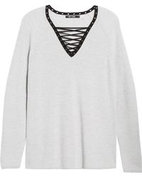 NIC+ZOE - A Little Edge Top (petite) - Lyst