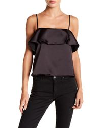 Sincerely Jules - Bella Satin Tank Top - Lyst