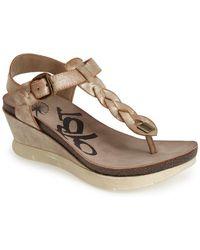 Otbt - 'graceville' Platform Wedge Sandal (women) - Lyst